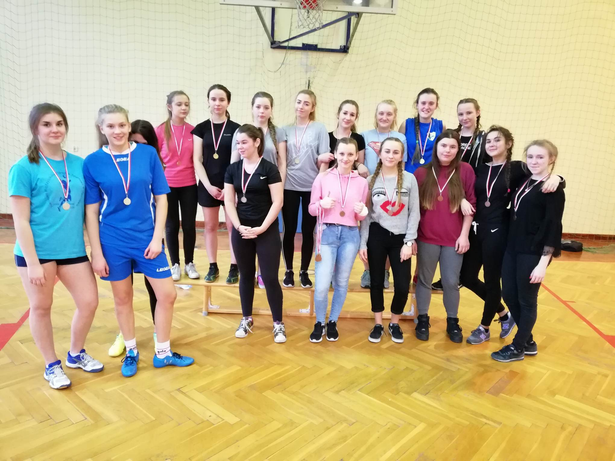 Zawody Międzyklasowe w Koszykówce Dziewcząt