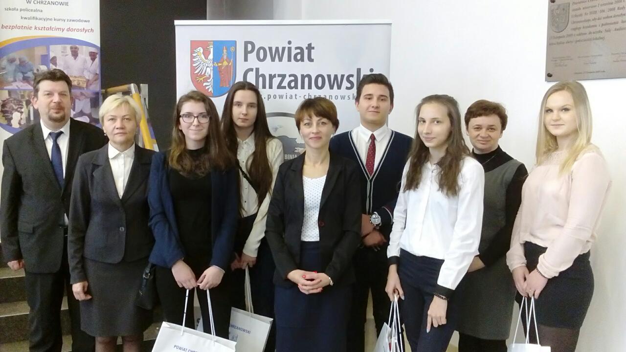 Filip Wyrobiec zwycięzcą Konkursu Wiedzy o Powiecie.