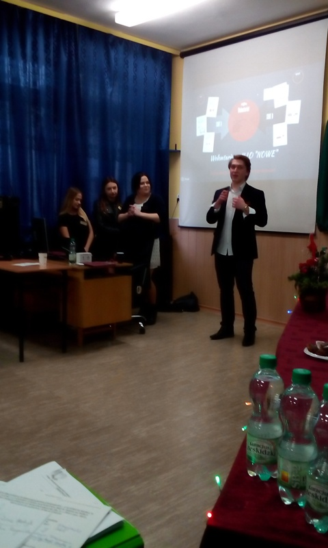 """PODSUMOWANIE PROJKETU """"Wolontariat – Pierwsze kroki w karierze"""""""