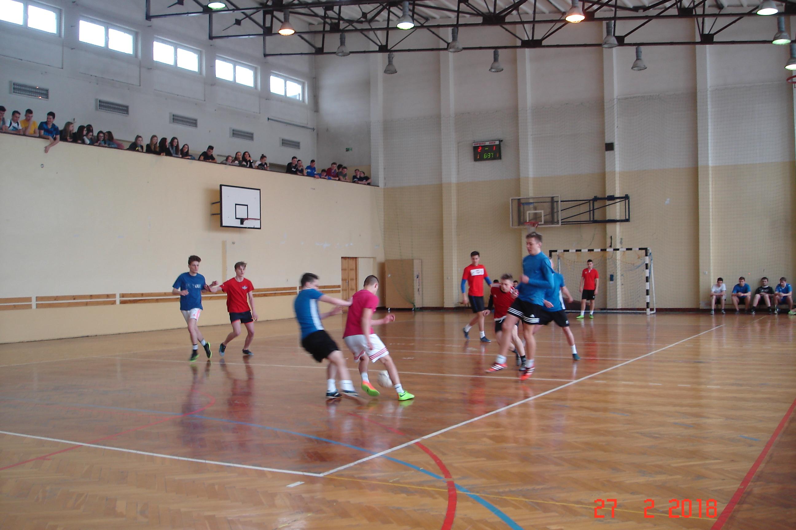 Międzyklasowy Turniej Piłki Nożnej Chłopców