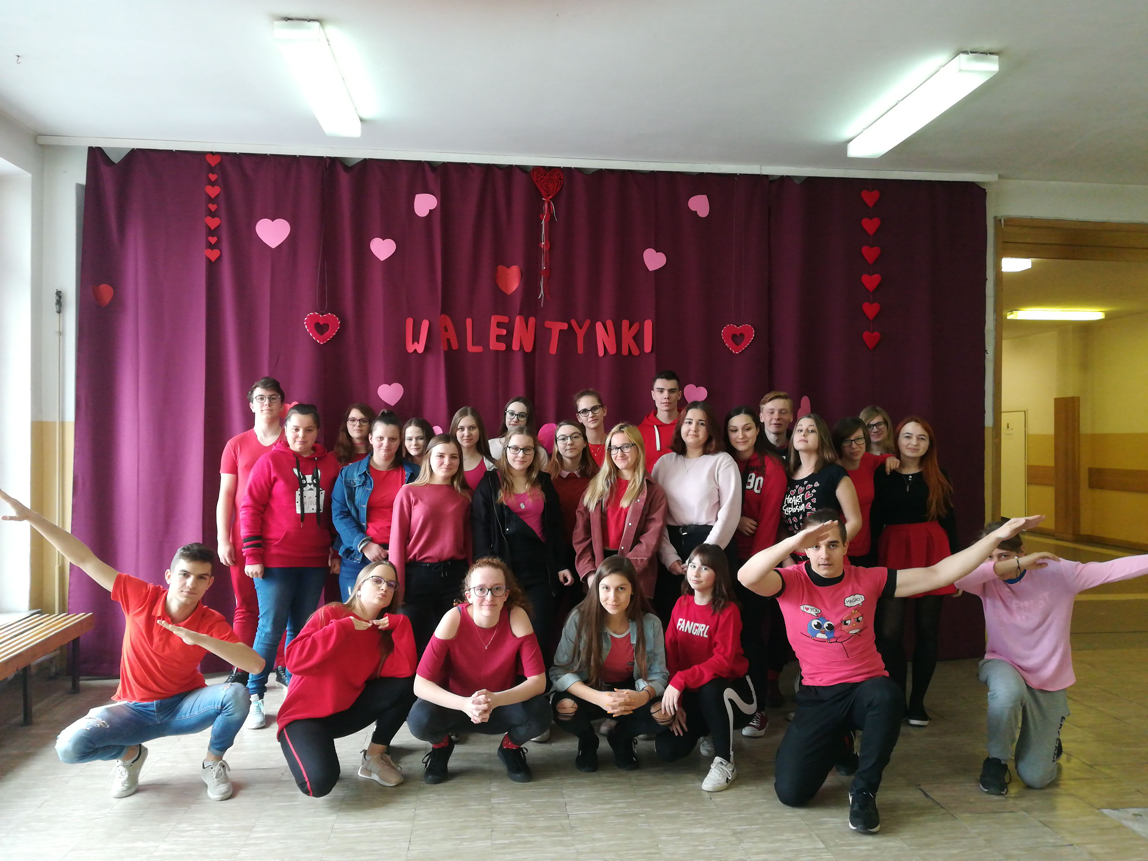 Walentynki z Klubem Europejskim i Samorządem Uczniowskim