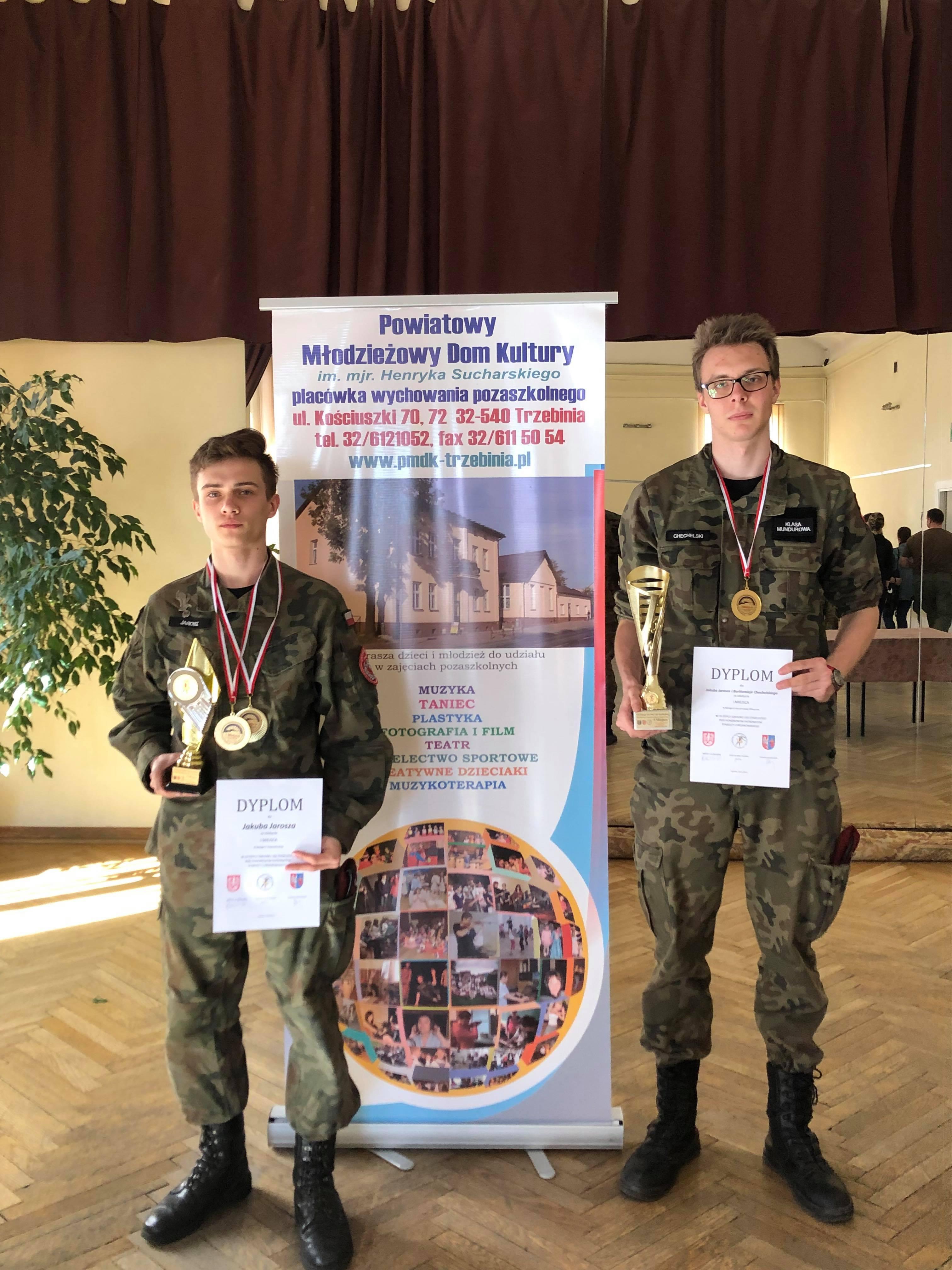 Bartłomiej Chechelski i Jakub Jarosz zwycięzcami Powiatowej Ligi Strzeleckiej
