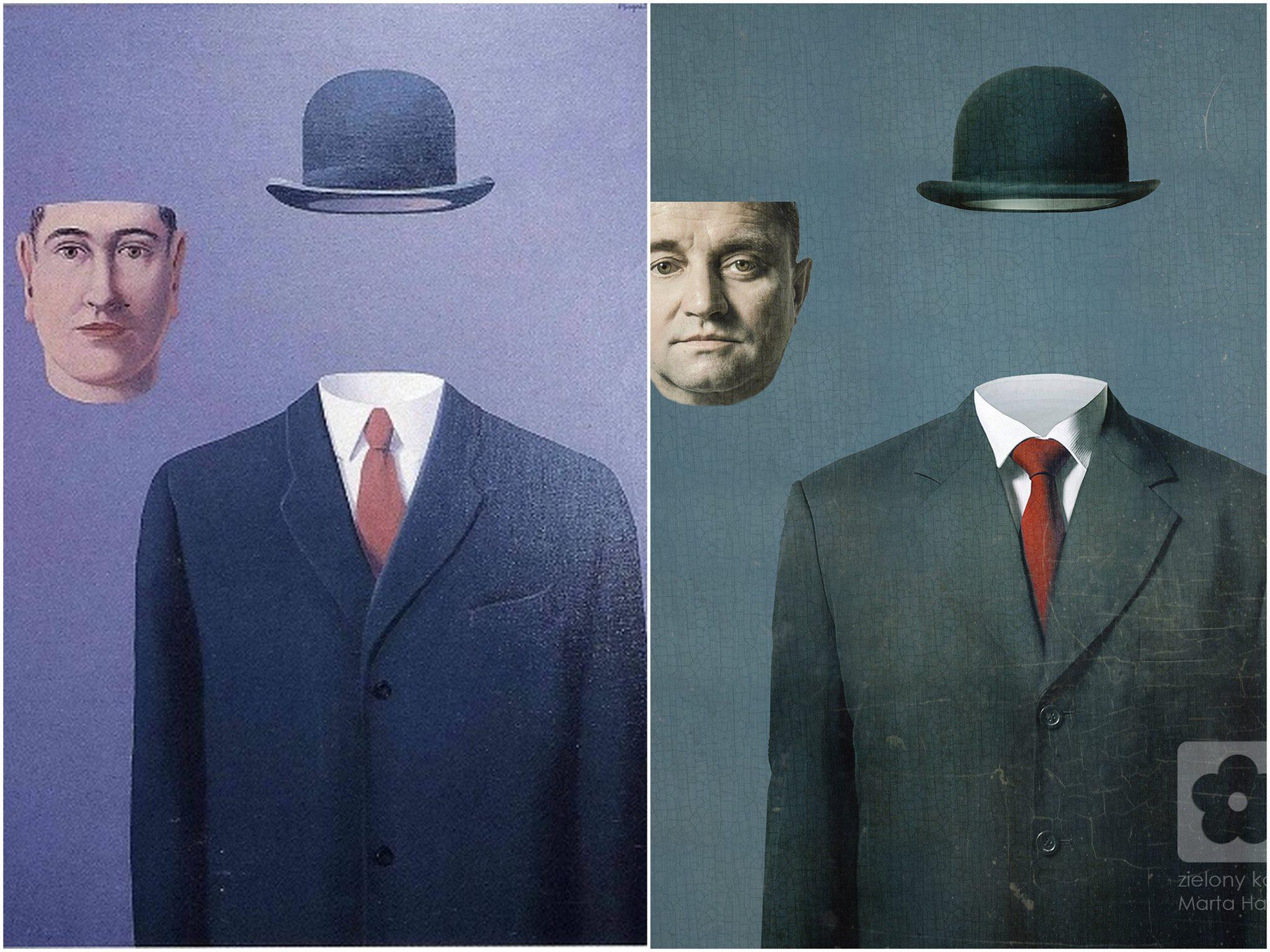Rene Magritte, Pilegrzym, 1966
