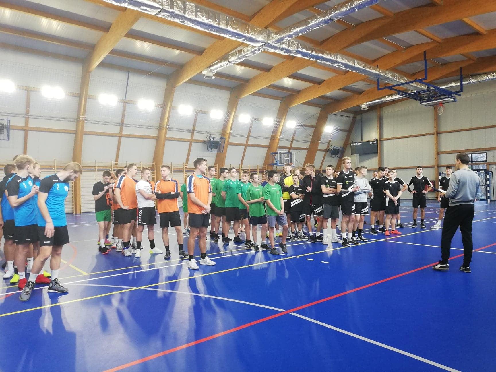 Powiatowe Zawody w Koszykówce Chłopców