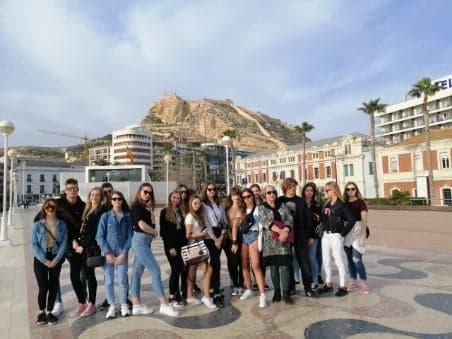Obóz językowy w Hiszpanii
