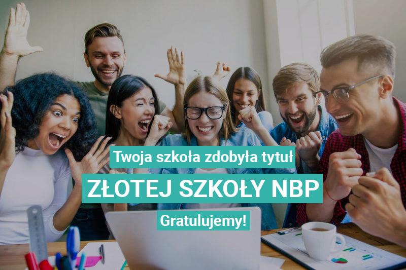 Baczyński – Złotą Szkołą NBP