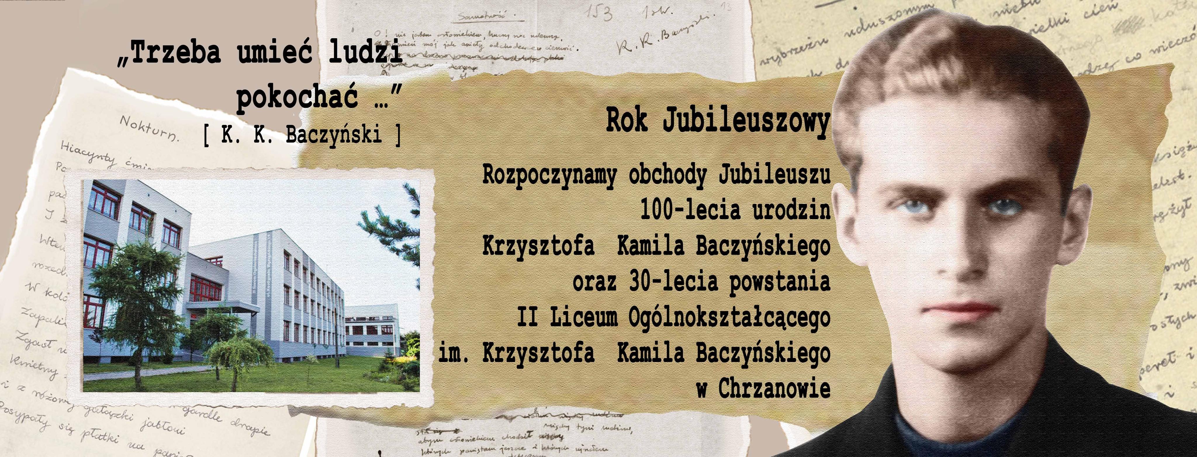 Baczyński kolor Rok Jubileuszowy