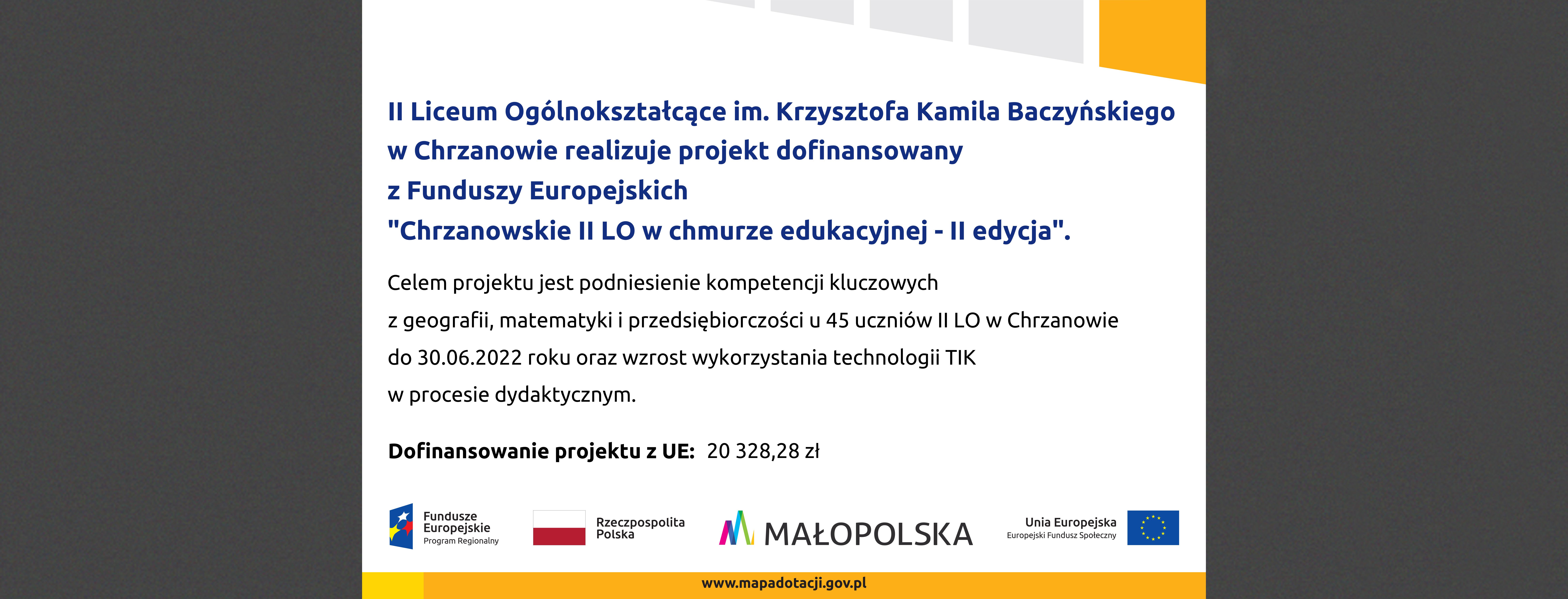 Małopolska Chmura Edukacyjna - II edycja