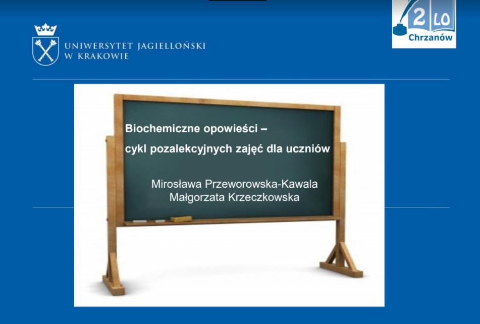 63. Zjazd Naukowy Polskiego Towarzystwa Chemicznego z udziałem klas z edukacją medyczną