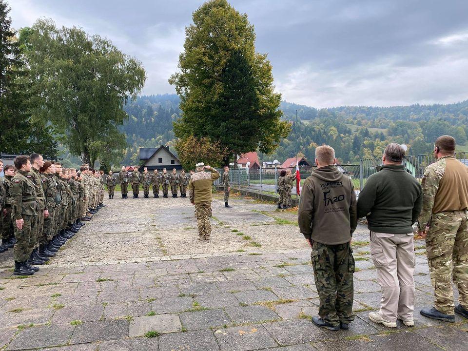 Obóz Szkoleniowy klasy mundurowych - Zawoja 2021